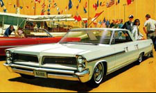 1963 Bonneville Car Art - Flag Ships