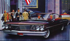1960 Bonneville Car Art