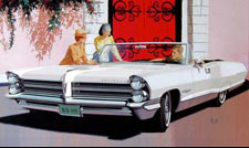 1965 Bonneville Car Art - Red Gate, Bermuda