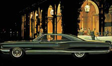 1965 Bonneville Classic Car Advertisement - Villa d'Este