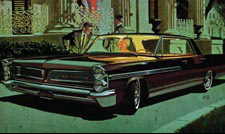 1963 Bonneville Car Ad - Party's Over