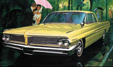 1962 Catalina Car Art - Rain in Rio