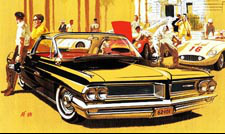 1962 Grand Prix Classic Car Art - Monte Carlo