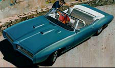 1969 GTO - Beach at Hydra