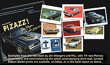 Pontiac Pizzaz Stamp Collection