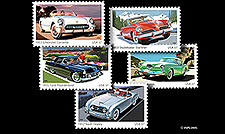 2005 USPS Classic Car Stamps!