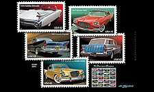 2008 USPS Classic Car Stamps