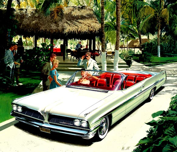 1961 Bonneville Acapulco Club