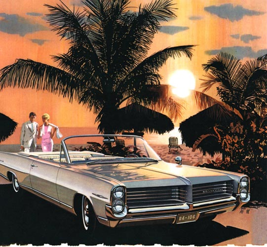 1964 Bonnevile Barbados Sunset